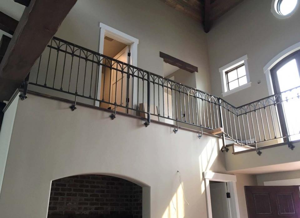 Interior Decorative Hand Railings