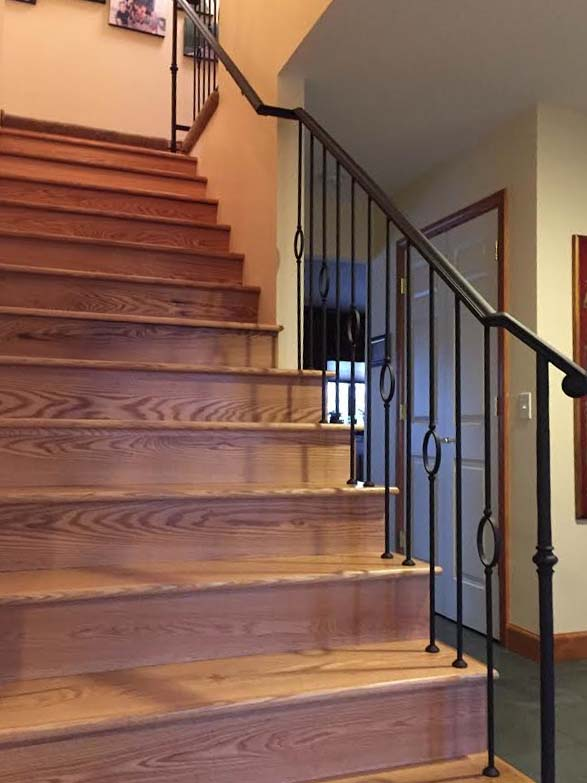 Interior Decorative Hand Railings