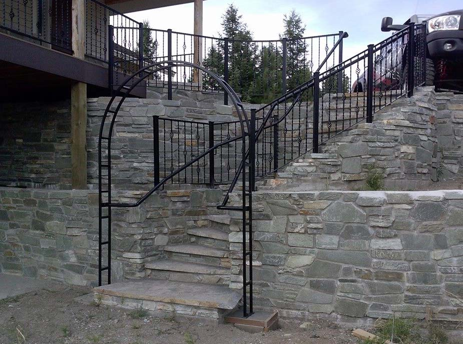 Decorative Railings Installed